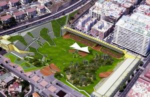 proyecto parque estadio insular