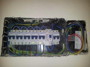 instalación eléctrica actual